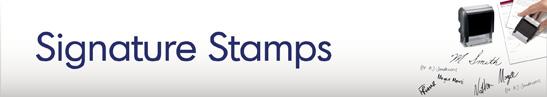 Signature Stamps